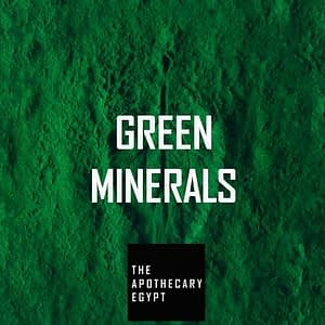 Green Minerals | The Apothecary Egypt