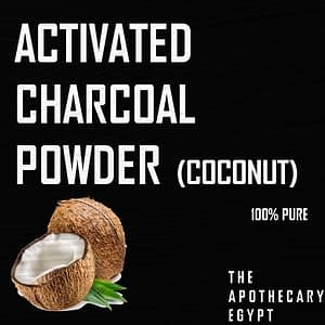 Activated Charcoal Powder - The Apothecary Egypt