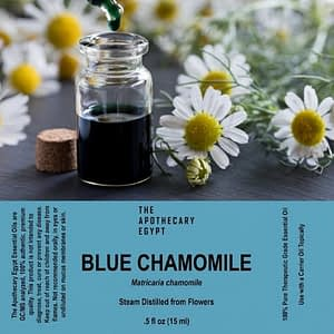 Blue Chamomile Essential Oil Egypt