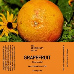 Grapefruit Essential Oil Egypt
