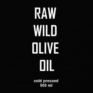 RAW Organic Olive Oil Egypt