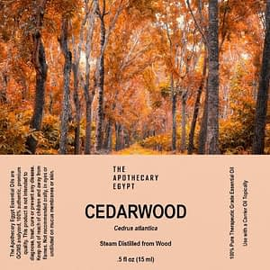 Cedarwood Essential Oil Egypt