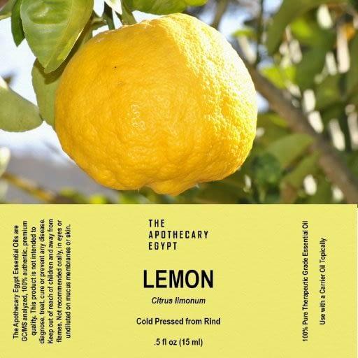Lemon Essential Oil Egypt