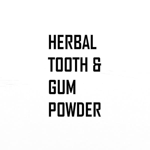 Herbal Tooth and Gum Powder | The Apothecary Egypt