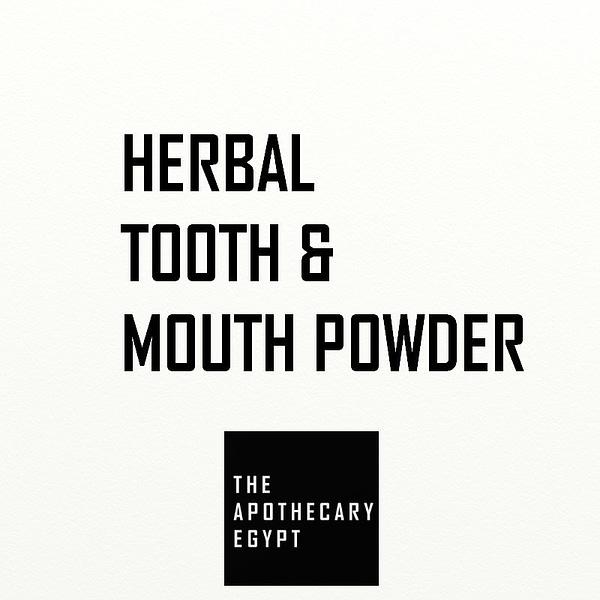 Herbal Tooth & Gum Powder Egypt