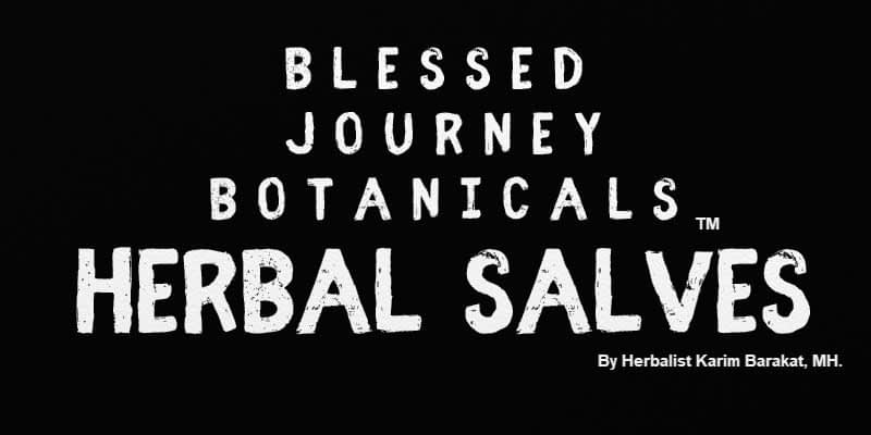 Blessed Journey Botanicals Herbal Salves Egypt